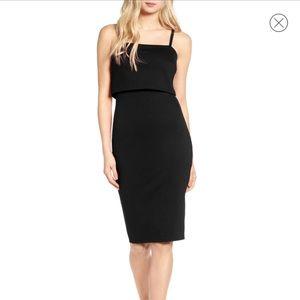 Popover Midi Body-Con Dress